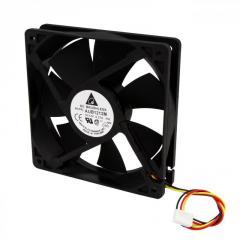 Вентилятор AUB1212M 120х120, 12V, 0.27A (3 pin)