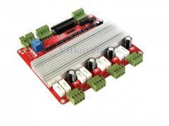Контроллер ЧПУ на 4 оси 3.5А CNC RED