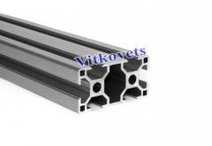 Станочный алюминиевый профиль для стола 30*60