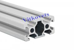 Aluminum profiles for building