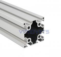 Станочный алюминиевый профиль двопазовый 60х60