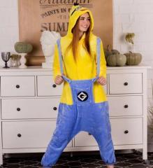 Кигуруми пижама - Миньон взрослый- серия Premium