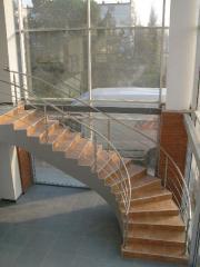 Лестницы винтовые, изготовление на заказ
