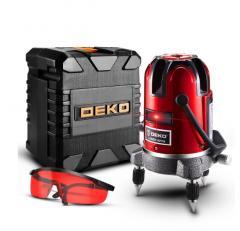 Лазерный уровень DEKO LL5 серия 4V1H1D 5 линий 6