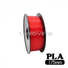 Пластиковая нить PLA, 1.75 мм, 1 кг красный