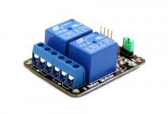 Блок реле relay module 2-канальный 5V