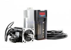 Сервомотор, серводрайвер 80ST-M02430, 750W, 2.39