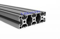 Aluminum profile for wardrobes