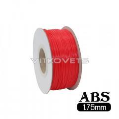 Пластиковая нить ABS, 1.75 мм, 1 кг красный