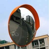 Street spherical mirror of UNI of 80 cap