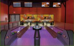 Mini-bowling, attractions children's across