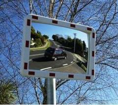 Road mirror of safety of MEGA 400x600