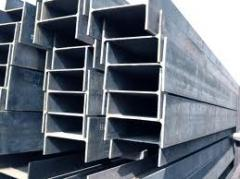 Beams dvutavrovy of carbonaceous steel Pervomaisk