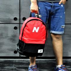 Рюкзак спортивный. Нью бланс, New Balance. Красный