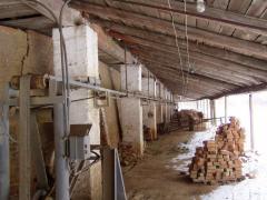 Conveyor of the circular furnace
