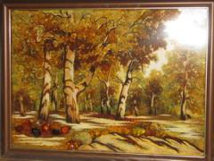 Landscapes from amber