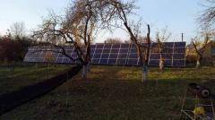 Сонячні панелі. Солнечные панели