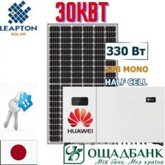 Сонячна електростанція. Соленечная электроста