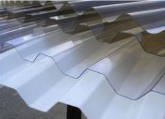 Slate corrugated PVC sheet PALRUF