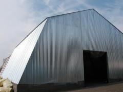 Hangars of tent type