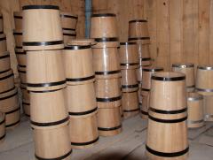 Кадка дубовая для солений,  70 литров