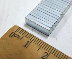 (10шт) Магнит неодимовый (прямоугольник 15х5х1,8мм) Выдерживает вес до 1.5 кг. (сп7нг-4225)