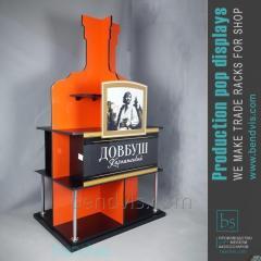 Stand commerciale per cognac