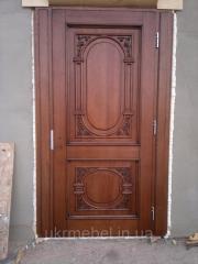 Двери дубовые.Двери из массива дуба