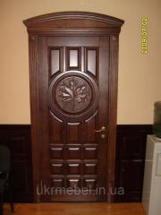 Двери из ясеня.Двери из массив ясень