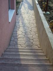 Tile of a skhodov Lutsk Kovel