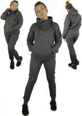 Трикотажный женский спортивный костюм на...