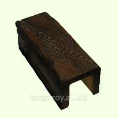 Decorative beams from polyurethane, Decowood,