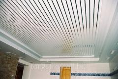 Алюмінієві рейкові підвісні стелі