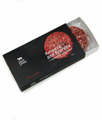 Котлеты для бургера с мраморной говядины