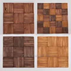 Деревянная плитка Мозаика Стеновые Панели AF-201