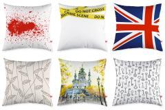 Pillows Goods for a vitrinistika