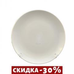 Тарелка Фарфоровая Круглая Белая 205мм (A1108)