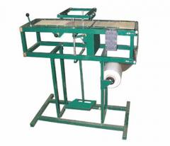Машины для припрессовки полиэтиленовй пленки