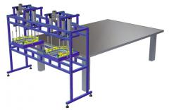 Equipment for production of a container