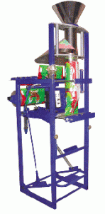 The automatic machine for packing of loose