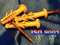 Дюбель WAVE 6х40 mm для крепления сетки, панелей,