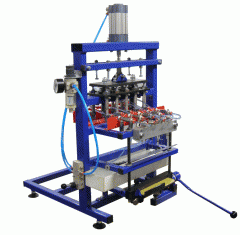 Equipment for packaging of liquid products