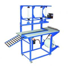 Machines for packaging of linen