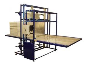 Automatic machine for packaging of sheet polyfoam