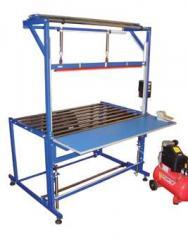 Оборудование упаковочное пневматическое