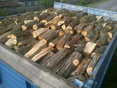 Firewood is oak