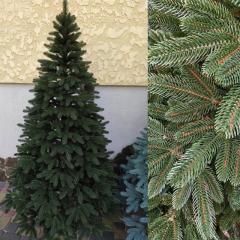 Премиум зеленая 2.5м литая елка искусственная ель