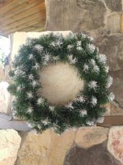 New Year's wreaths