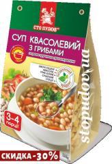 """Суп квасолевий з грибами""""Сто пудів"""" 120"""