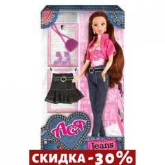 Кукла Ася с аксессуарами (брюнетка)